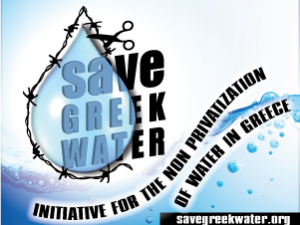 European Water Movement: Against EU Treaty the pressure of EU Commission to privatize water services