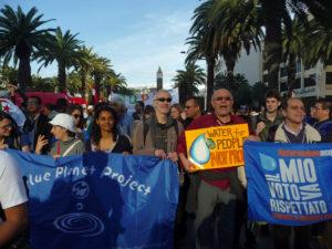 Το SAVEGREEKWATER στο Παγκόσμιο Κοινωνικό Φόρουμ στην Τυνησία