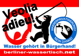 "Berliners say, at last, the final ""Veolia Adieu"""