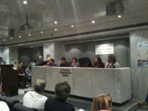 """Suez """"honored"""" the speech of Paris deputy mayor Anne LeStrat, Athens city council no!"""