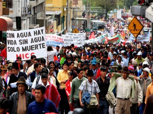 Κατοχύρωση του δημόσιου χαρακτήρα του νερού από την Βουλή (του Εκουαδόρ)
