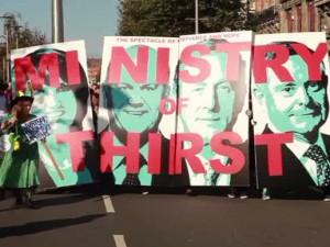 Επιστολή υποστήριξης στο Ιρλανδικό κίνημα νερού από το ΕΚΝ