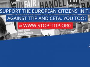 Μήνυση στην Κομισιόν για την άρνησή της να διοργανωθεί ΠΕΠ για την TTIP